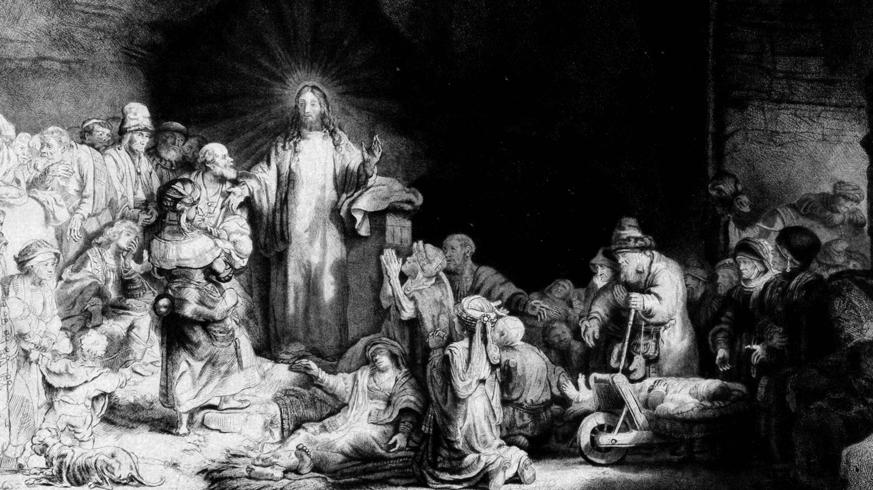 """Rembrand und das berühmte """"Hundertguldenblatt"""""""
