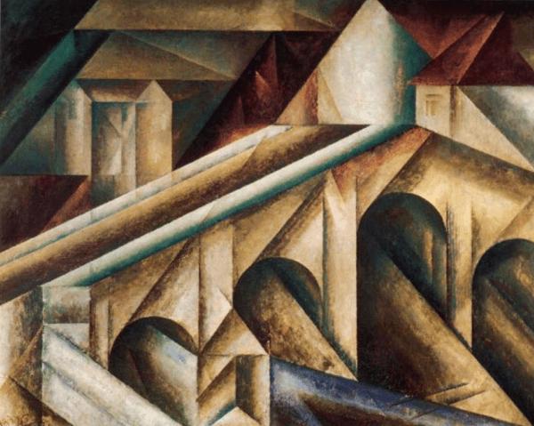 Lyonel Feininger– Brücke III
