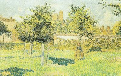 CAMILLE PISSARRO – Frau im Obstgarten