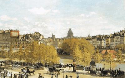 MONET – Erster Kontakt zur Freilichtmalerei
