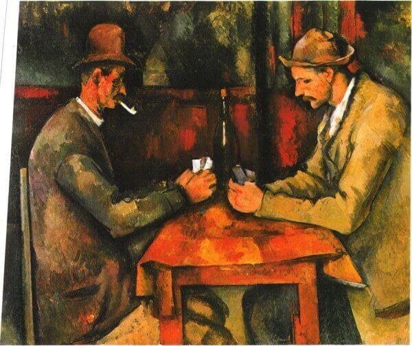 Paul Cezanne – Die Kartenspieler
