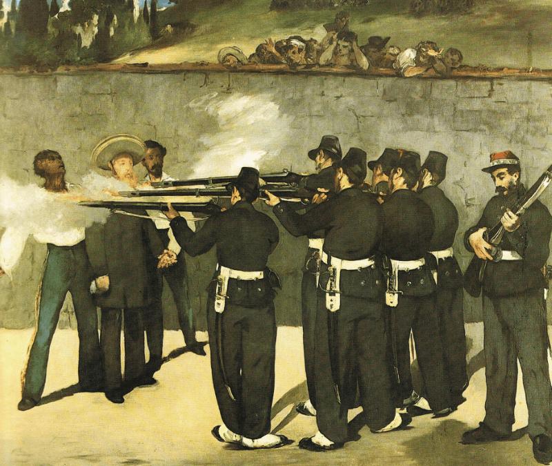 EDOUARD MANET – Kriegsszenenmaler unter den Impressionisten