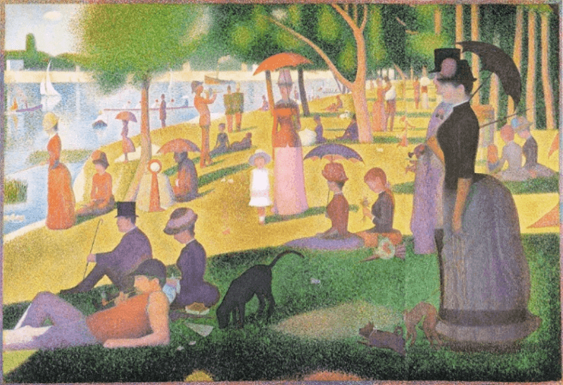 Georges Seurat – Ein Sonntagnachmittag auf der Ile de la Grande Jatte