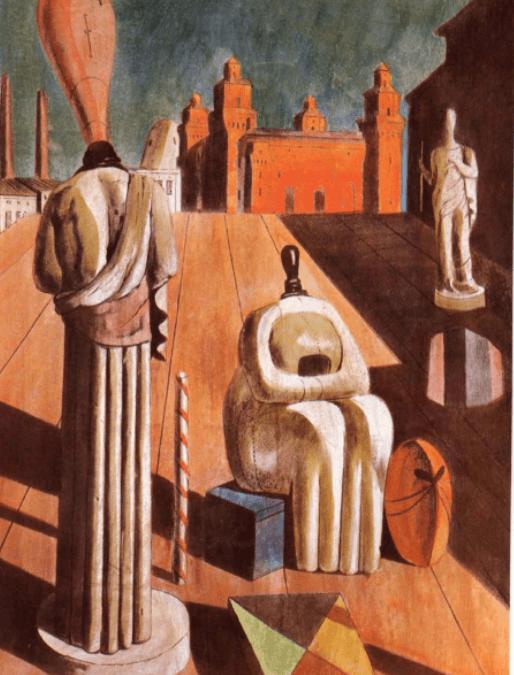 Futurismus und Pittura Metafisica
