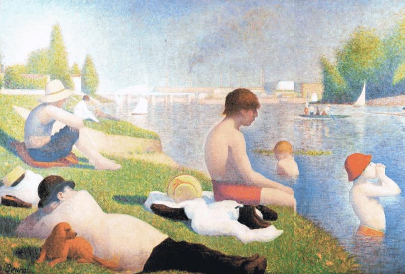 Georges Seurat – Begründer der Pointillismus