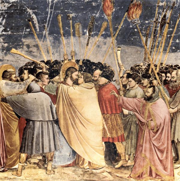 Giotto di Bondone – Der Judaskuss