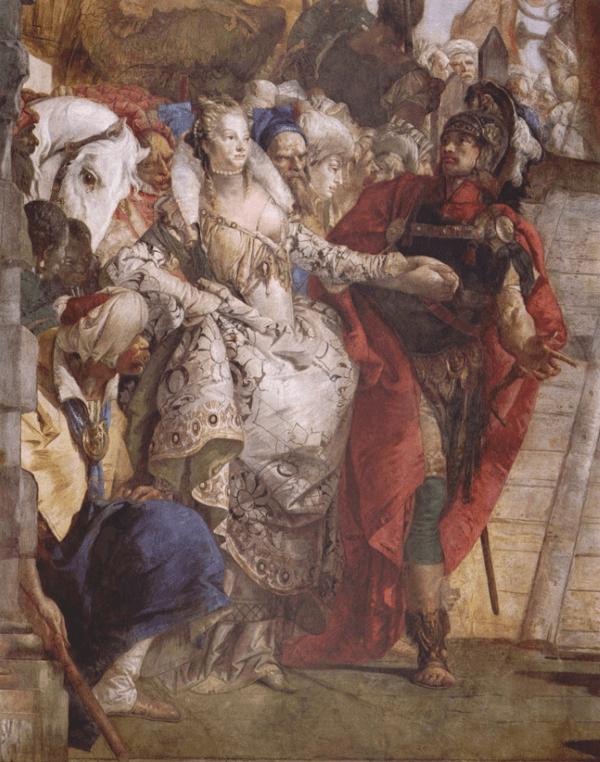 Giovanni Battista Tiepolo – Begegnung von Antonius und Kleopatra