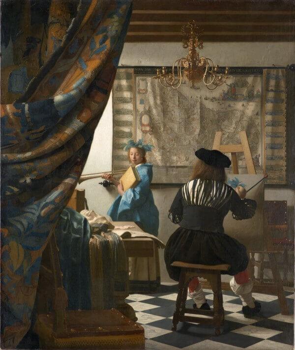 Jan Vermeer, Allegorie der Malerei