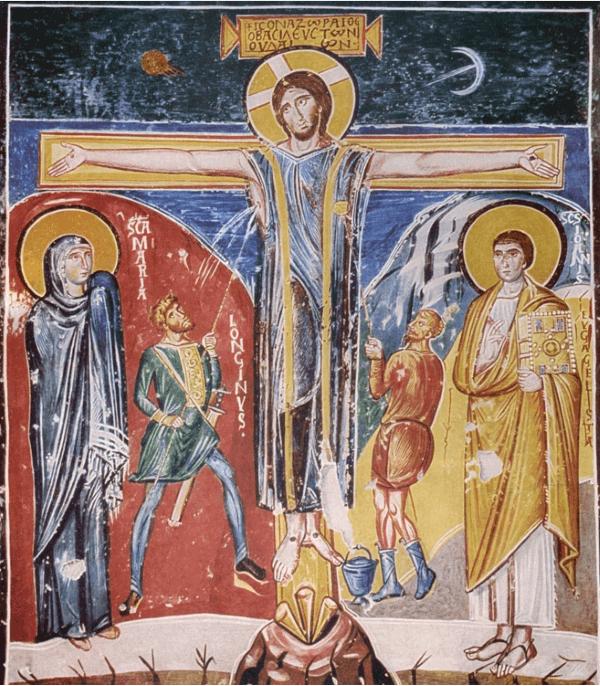 Frühchristliche Kunst – Kreuzigung Christi