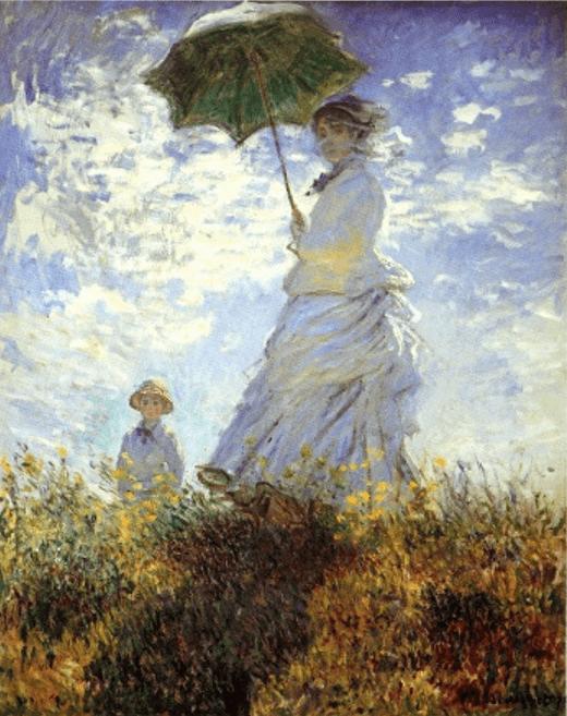 """""""Lasst uns gehen, dieser Ort ist ungesund"""", sagte Monet"""