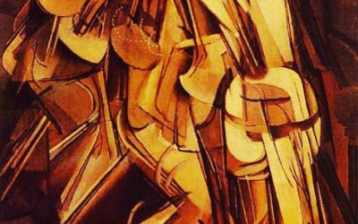 Marcel Duchamp: AKT – Eine Treppe hinabsteigend