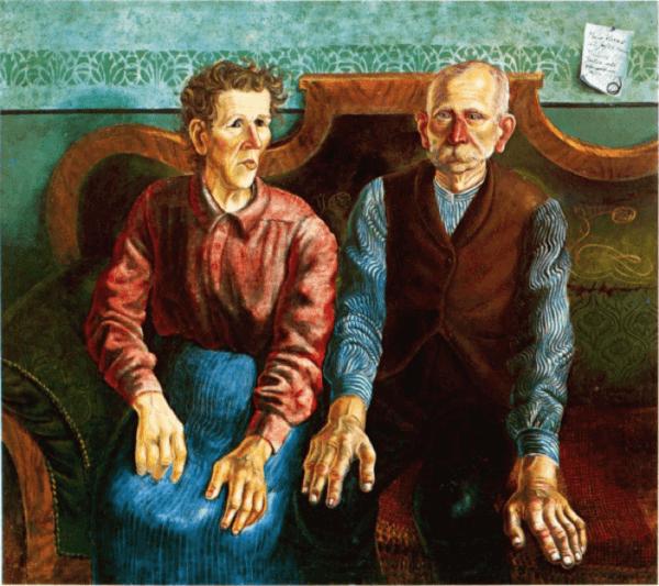 Otto Dix – Meine Eltern