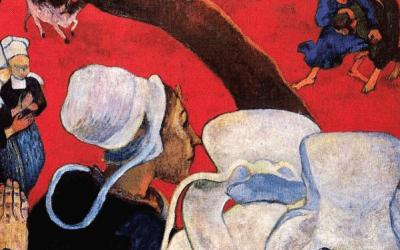 Paul Gauguin – Vision nach der Predigt
