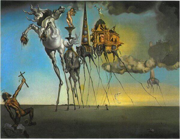 Salvador Dali – Die Versuchung des hl. Antonius