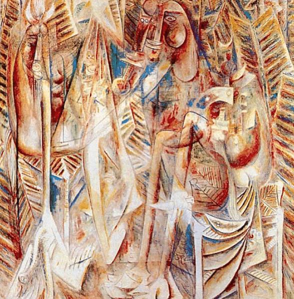 Wifredo Lam – Astralharfe